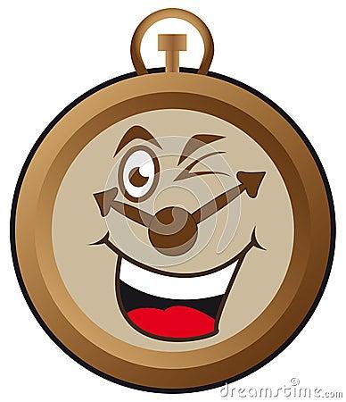 Lycklig klocka