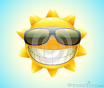 Lycklig sommarsun