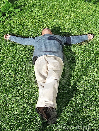 Free Lying Down Royalty Free Stock Image - 882366