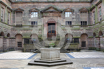 Lyme Hall in Cheshire, England.