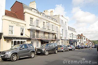 Lymington High Street Editorial Photo