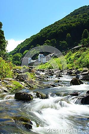 Lynmouth, Devon, England , Exmoor