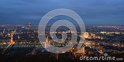 Lyon night
