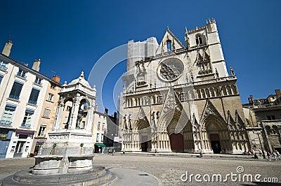 Lyon Notre Dame cathedral