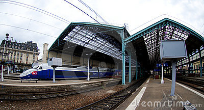 Lyon rail station Editorial Photography