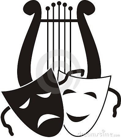 Free Lyre And Masks Stock Photos - 20142853