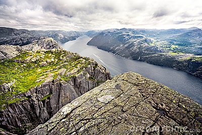 Lysefjord From Pulpit Rock