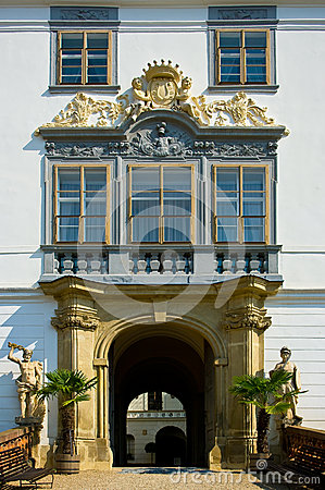 Lysice Baroque Castle. Royalty Free Stock Images - Image: 25386739