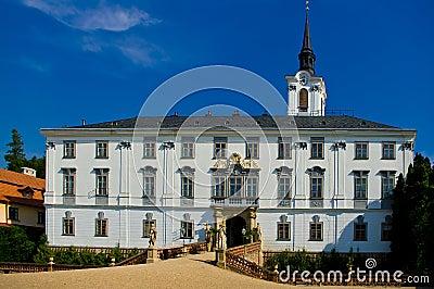 Lysice baroque castle.