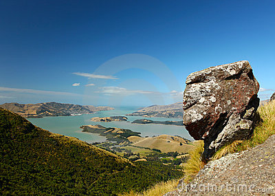 Lyttelton Harbour New Zealand
