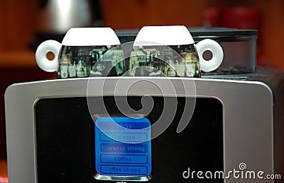 Máquina del café express