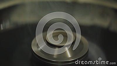 Máquina para fazer o algodão doce processo de manufatura do algodão doce vídeos de arquivo