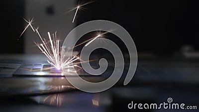 Máquina para a gravura do laser Equipamento especial para cortar em materiais duros Sistema da automatização e da precisão Laser  filme