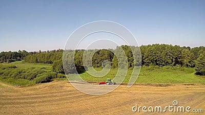 Máquinas da agricultura no trabalho vídeos de arquivo