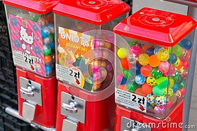 Máquinas do brinquedo Imagem Editorial