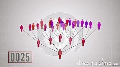 Márketing de la red, principio de la duplicación