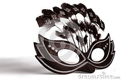 Máscara adornada