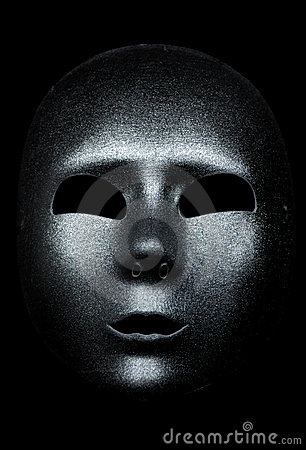 Máscara de plata