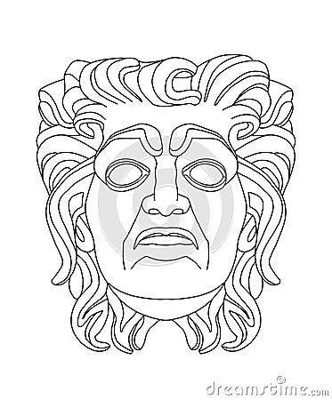 fotos desenho de uma m scara de cavalo para colorir sukarame