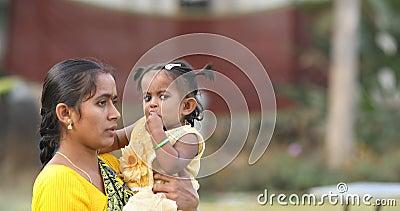 Mãe e Criança Hyderabad Índia filme