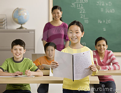 Mädchenlesereport zu den Mitschülern