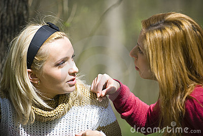 Mädchenunterhaltung