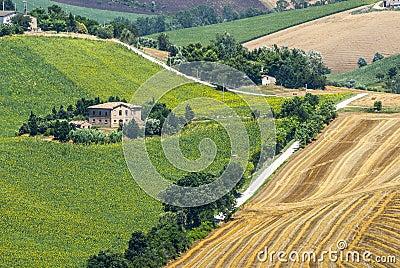 Märze (Italien) - Landschaft
