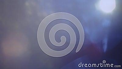 Mélange de différentes déformations et couleurs légères Fuites légères pour la transition et les effets recouverts clips vidéos