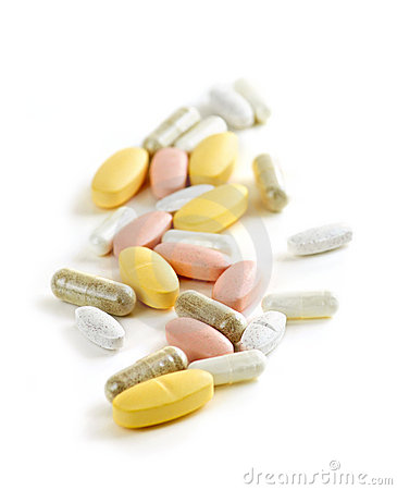 Mélange des vitamines