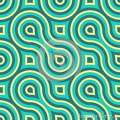 Geometriska Seamless mönstrar