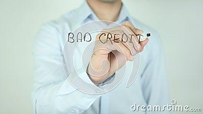 ¿Mún crédito? ¡Podemos ayudar! , Escribiendo en la pantalla transparente almacen de video