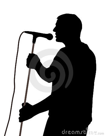 Męski piosenkarz