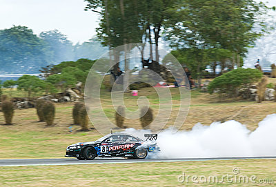 M-150 Drift Competition, Bonanza Racing Circuit Editorial Image