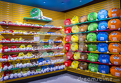 M&M World Las Vegas Editorial Stock Image - Image: 51903924