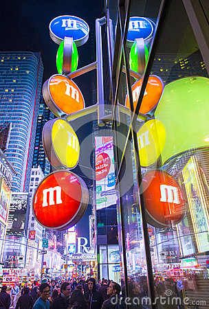 M&M world New York Editorial Photography