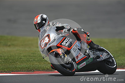 M passini, moto gp 2012 Editorial Stock Image
