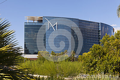 M resort daytime view in Las Vegas, NV on August 20, 2013 Editorial Stock Photo