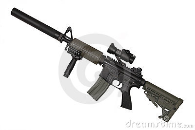 M4A1 Custom Stock Photography - Image: 12830092