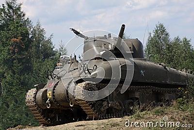 M4A1 Sherman Tank –WW II