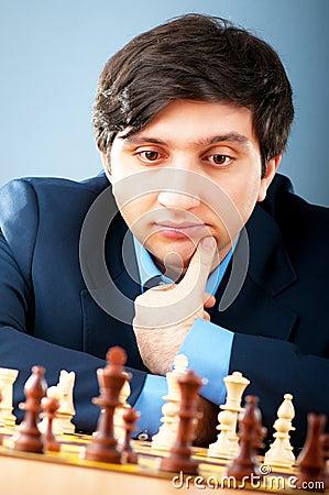 Maître grand Vugar Gashimov (rang du monde - 12) de FIDE
