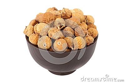 Mała wysuszona figa