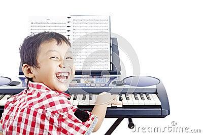 Mały fortepianowy gracz