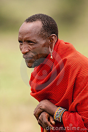 Maasai Elder Editorial Stock Image