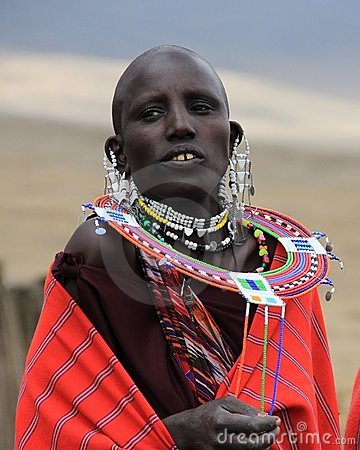 Maasai woman Editorial Photography