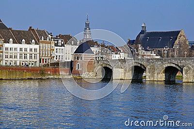 Maastricht old bridge