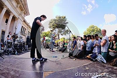 Mac DeMarco band, performs at Heineken Primavera Sound 2013 Festival Editorial Photo