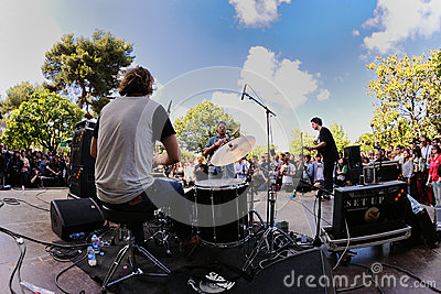 Mac DeMarco band, performs at Heineken Primavera Sound 2013 Festival Editorial Image