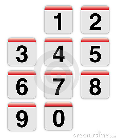 Mac style numbers