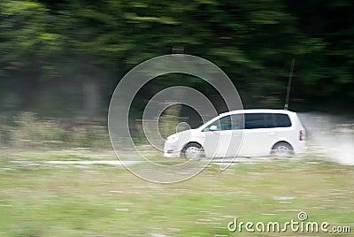 Macadam drive