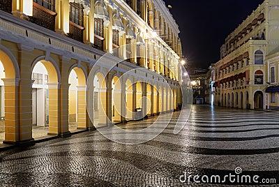 Macao landmark - Senado Square